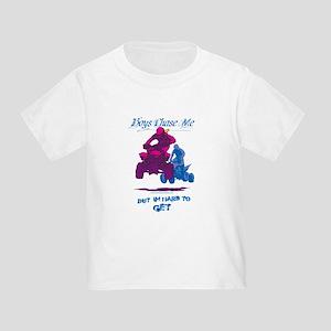 Boys Chase Me Toddler T-Shirt