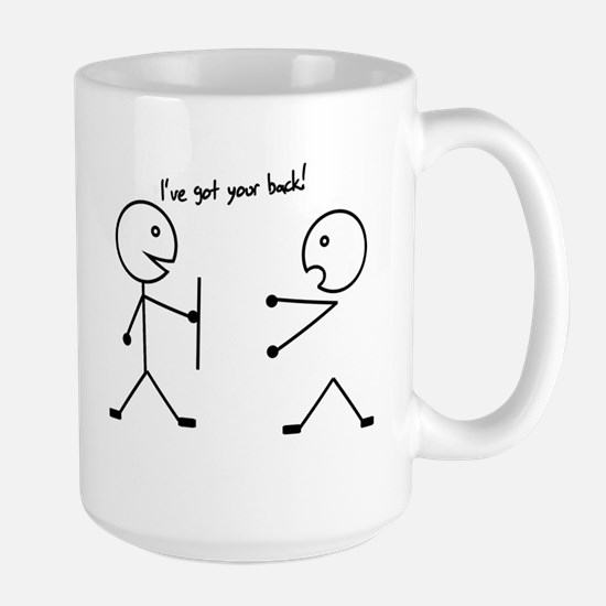 I've got your back Large Mug