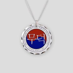 Moo Duk Gifts Necklace Circle Charm