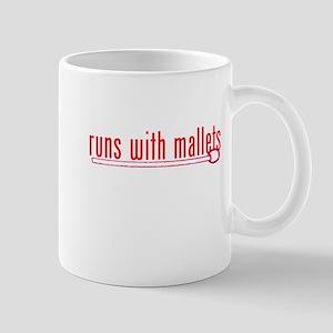 funny mallet Mug