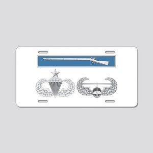 EIB Airborne Senior Air Ass Aluminum License Plate