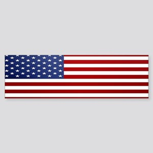 American Flag Sticker (Bumper)