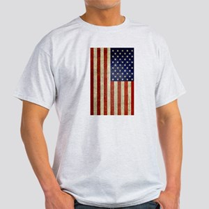 Distressed Flag v2 Light T-Shirt