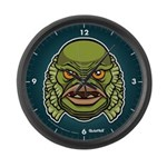 The Creature Large Wall Clock