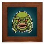 The Creature Framed Tile