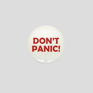Don't Panic! Mini Button