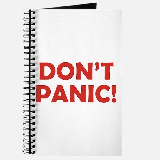 Don't Panic! Journal