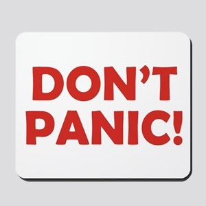 Don't Panic! Mousepad