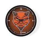 El Diablo Wall Clock