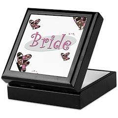 Bride Wedding Keepsake Box