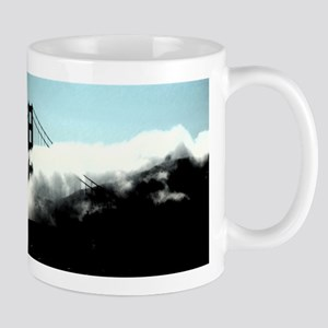 SF Bay Fog Creeps In The Gate Mug