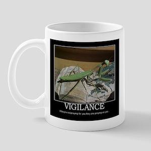 preying mantis Mug