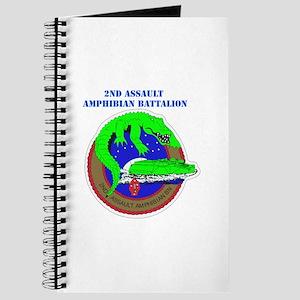 2nd Assault Amphibian Battalion with Text Journal