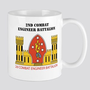 2nd Combat Engineer Battalion with Text Mug