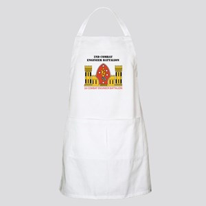 2nd Combat Engineer Battalion with Text Apron