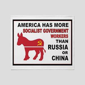 DEMOCRAT SOCIALISTS Throw Blanket