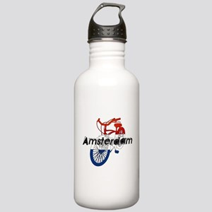 Amsterdam Bicycle Stainless Water Bottle 1.0L