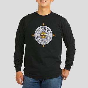 GTA11 COMPASS -- Long Sleeve Dark T-Shirt