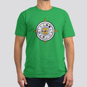 GTA11 COMPASS -- Men's Fitted T-Shirt (dark)