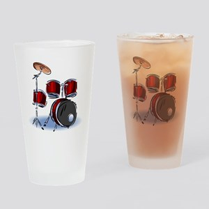 DRUM SET (5) Drinking Glass