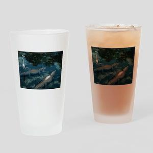 ALLIGATOR_4 Drinking Glass