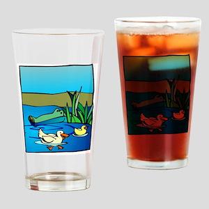 Alligator_1 Drinking Glass