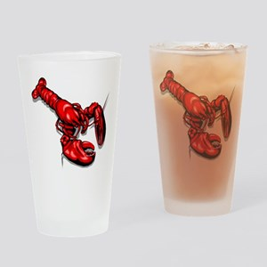 LOBSTER_2 Drinking Glass