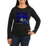 Dooteed Women's Long Sleeve Dark T-Shirt