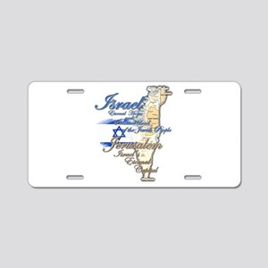 Israel, Jerusalem - Aluminum License Plate