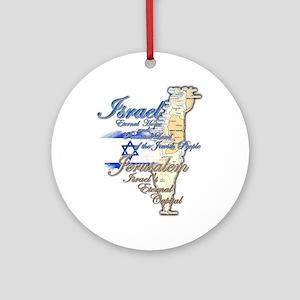 Israel, Jerusalem - Ornament (Round)