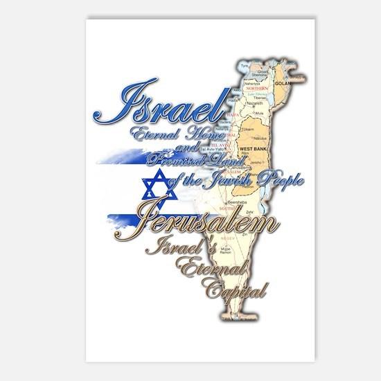 Israel, Jerusalem - Postcards (Package of 8)