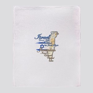 Israel, Jerusalem - Throw Blanket