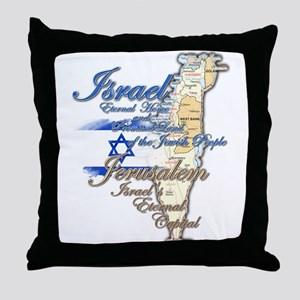Israel, Jerusalem - Throw Pillow
