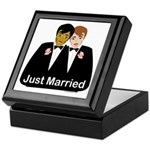 Gay Wedding Keepsake Box