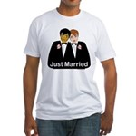 Gay Wedding Fitted T-Shirt