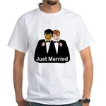 Gay Wedding White T-Shirt