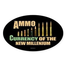 Ammo: Currency Millenium Sticker (Oval)