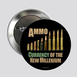 """Ammo: Currency Millenium 2.25"""" Button (10 pack)"""