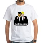 Two Grooms White T-Shirt