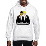 Two Grooms Hooded Sweatshirt