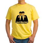 Same Sex Wedding Yellow T-Shirt