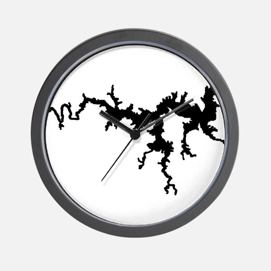 DRAGON {1 black} solid Wall Clock
