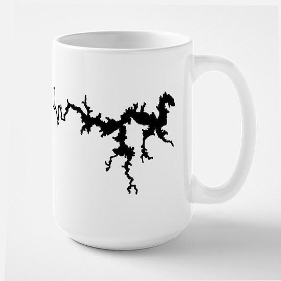 DRAGON {1 black} solid Large Mug