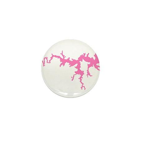DRAGON {1 pink} solid Mini Button