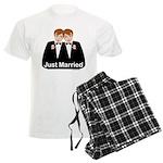 Gay Wedding Groom Men's Light Pajamas