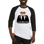 Gay Wedding Groom Baseball Jersey