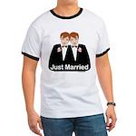 Gay Wedding Groom Ringer T