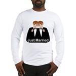 Gay Wedding Groom Long Sleeve T-Shirt