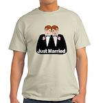 Gay Wedding Groom Light T-Shirt