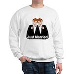 Gay Wedding Groom Sweatshirt